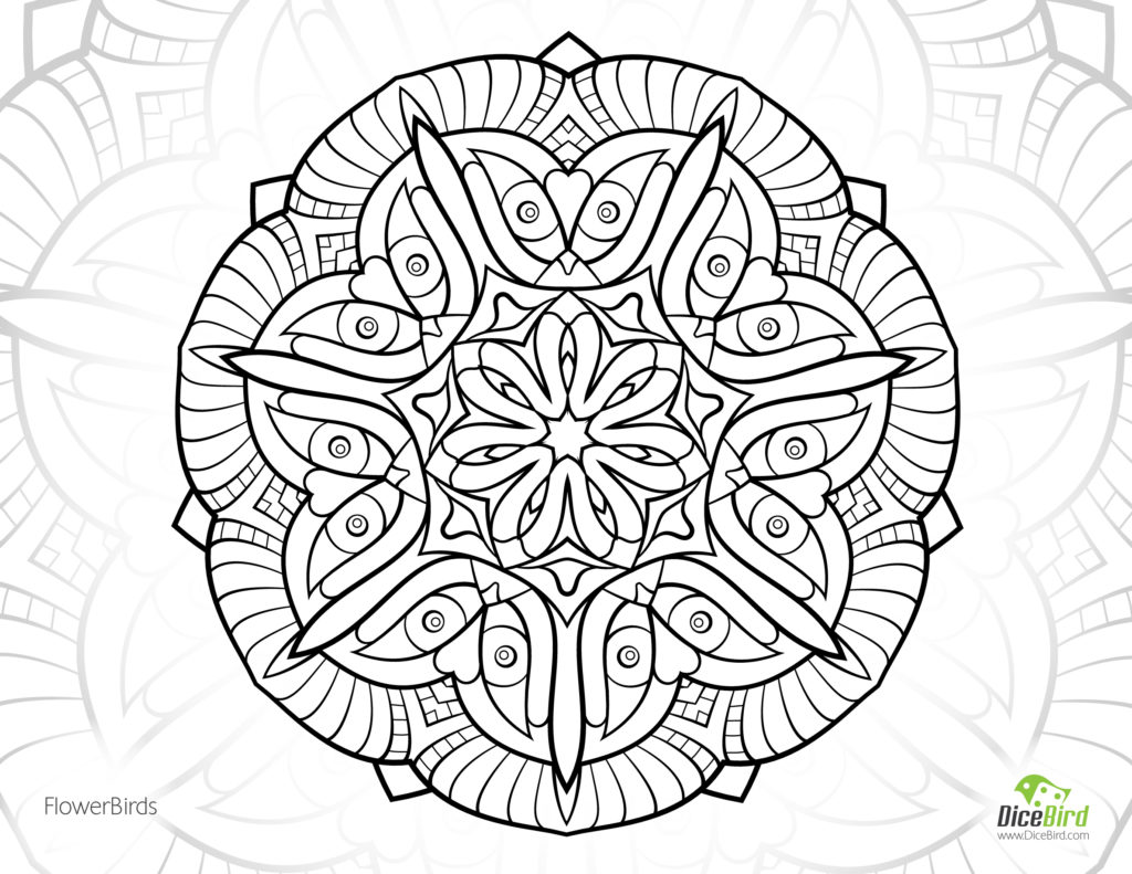 abstract flower coloring pages abstract flower drawing at getdrawingscom free for pages coloring flower abstract