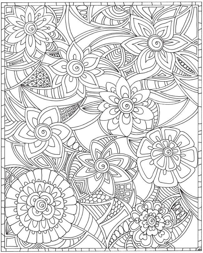 abstract flower coloring pages abstract flowers drawing at getdrawingscom free for coloring abstract pages flower