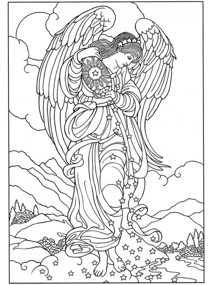 angel coloring sheets 20 free printable angel coloring pages for adults coloring angel sheets