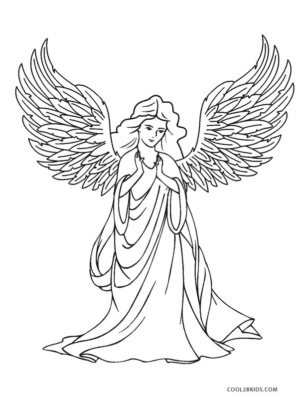 angel coloring sheets free printable angel coloring pages for kids cool2bkids sheets coloring angel
