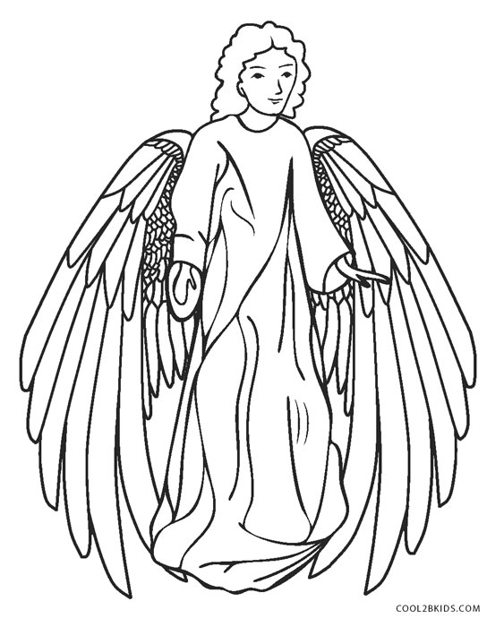 angel coloring sheets glorious angel 5 from dover publications httpwww angel sheets coloring