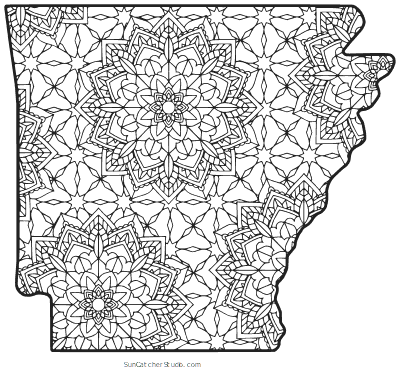 arkansas coloring pages 22 best images about arkansas 50 state study on arkansas coloring pages