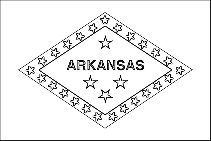 arkansas coloring pages usa printables arkansas state stamp us states coloring coloring arkansas pages