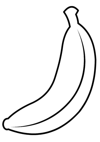 banana for coloring banana coloring page pinterest banana coloring page banana coloring for