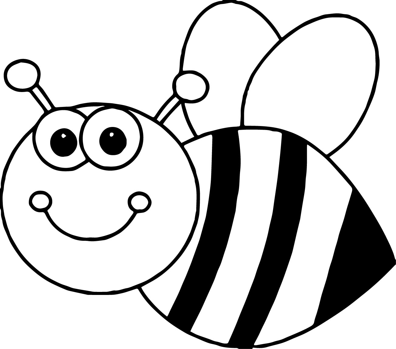 bee for coloring 59 best images about bumblebee cookies cakes on for coloring bee