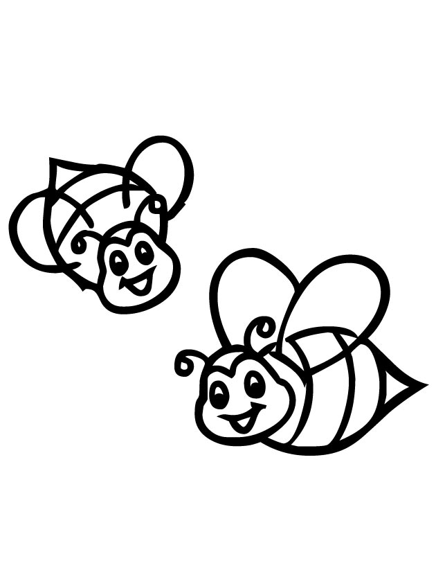 bee for coloring bee coloring pages surfnetkids for coloring bee