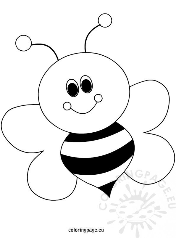 bee for coloring bees coloring page for coloring bee