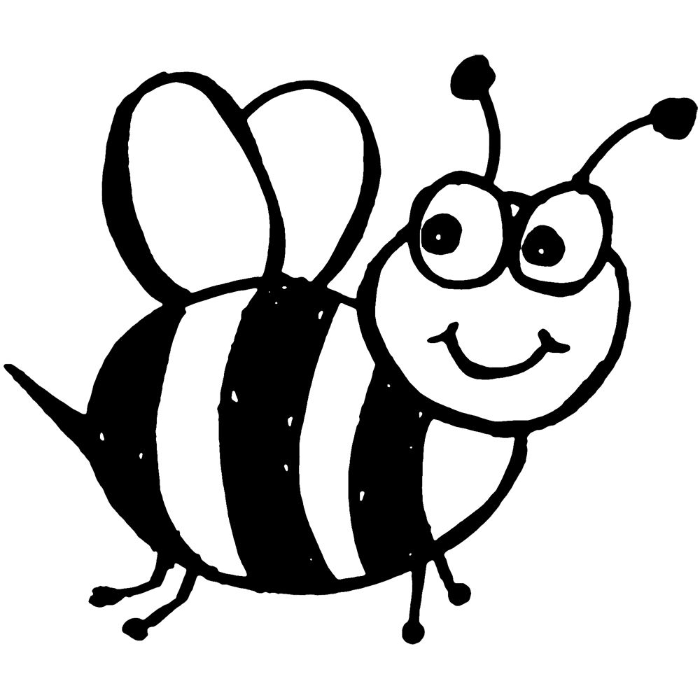 bee for coloring free printable bumble bee coloring pages for kids bee coloring for bee