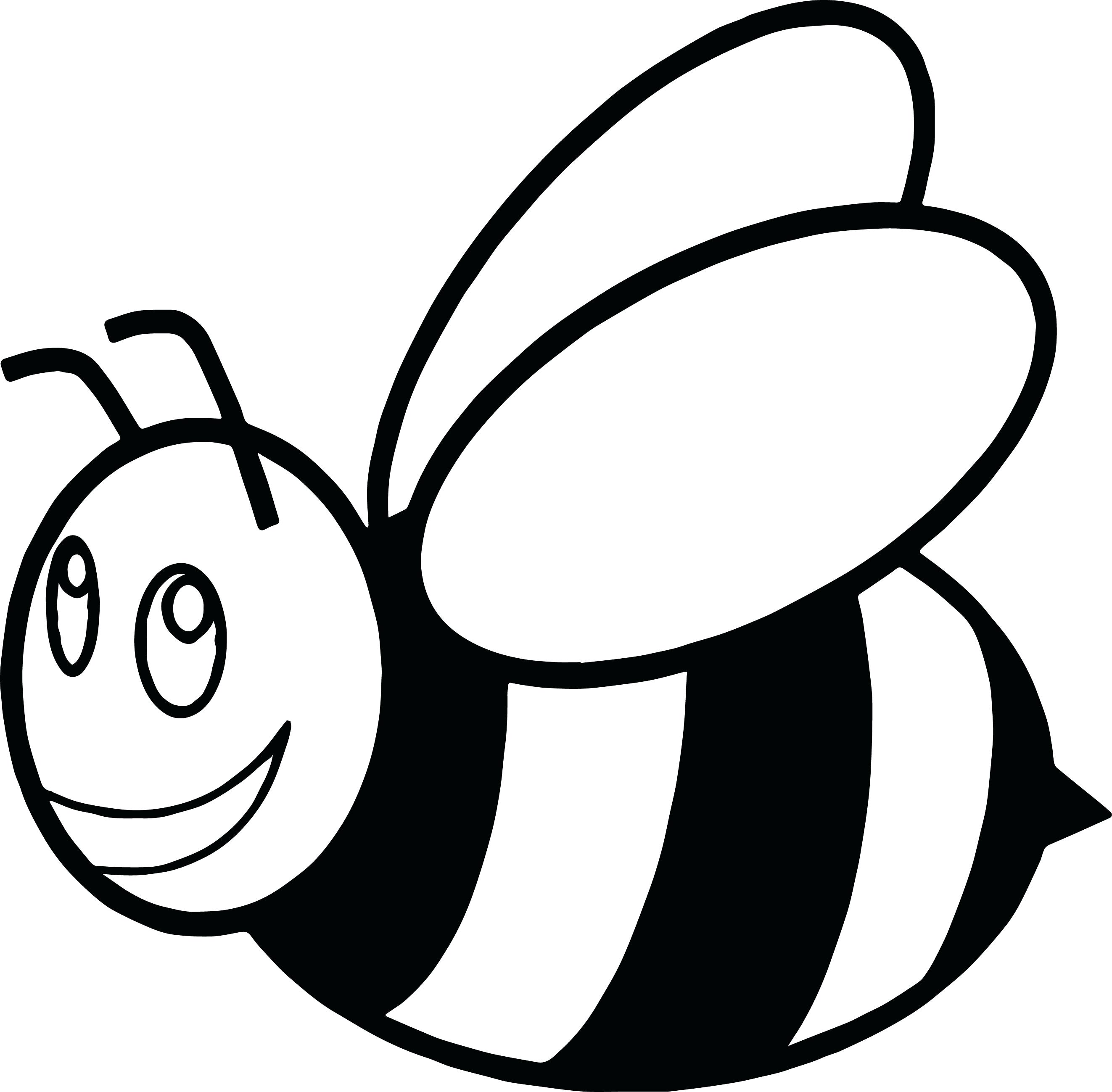 bee for coloring free printable bumble bee coloring pages for kids coloring bee for
