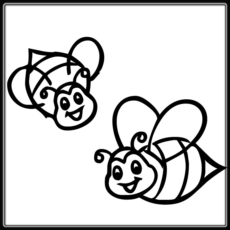 bee for coloring honey bee coloring page 19463 bestofcoloringcom for bee coloring