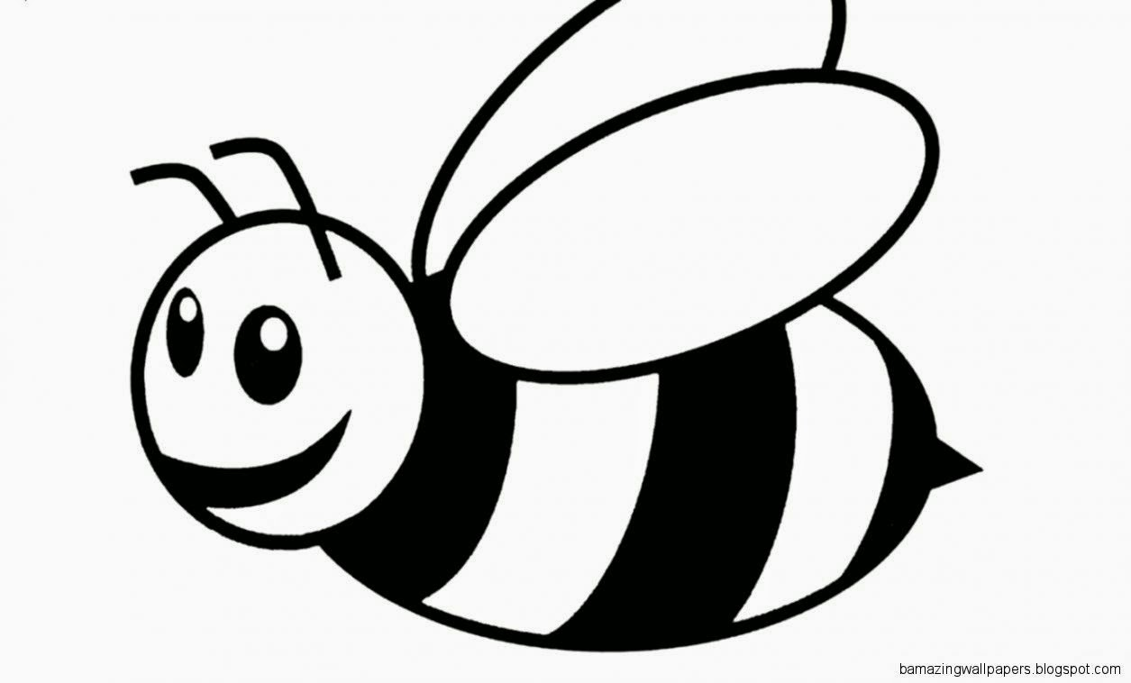 bee for coloring pictures of bees to color amazing wallpapers for bee coloring