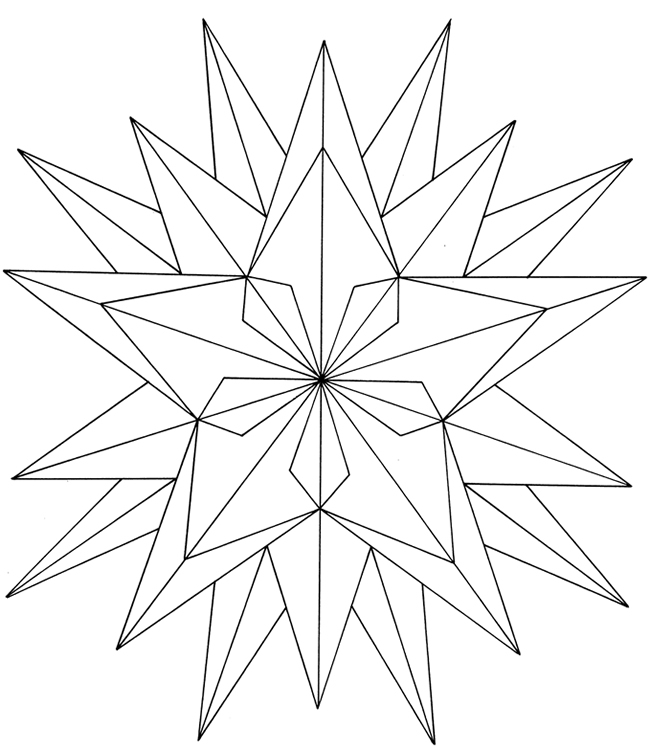christmas star coloring free printable star coloring pages for kids christmas coloring star