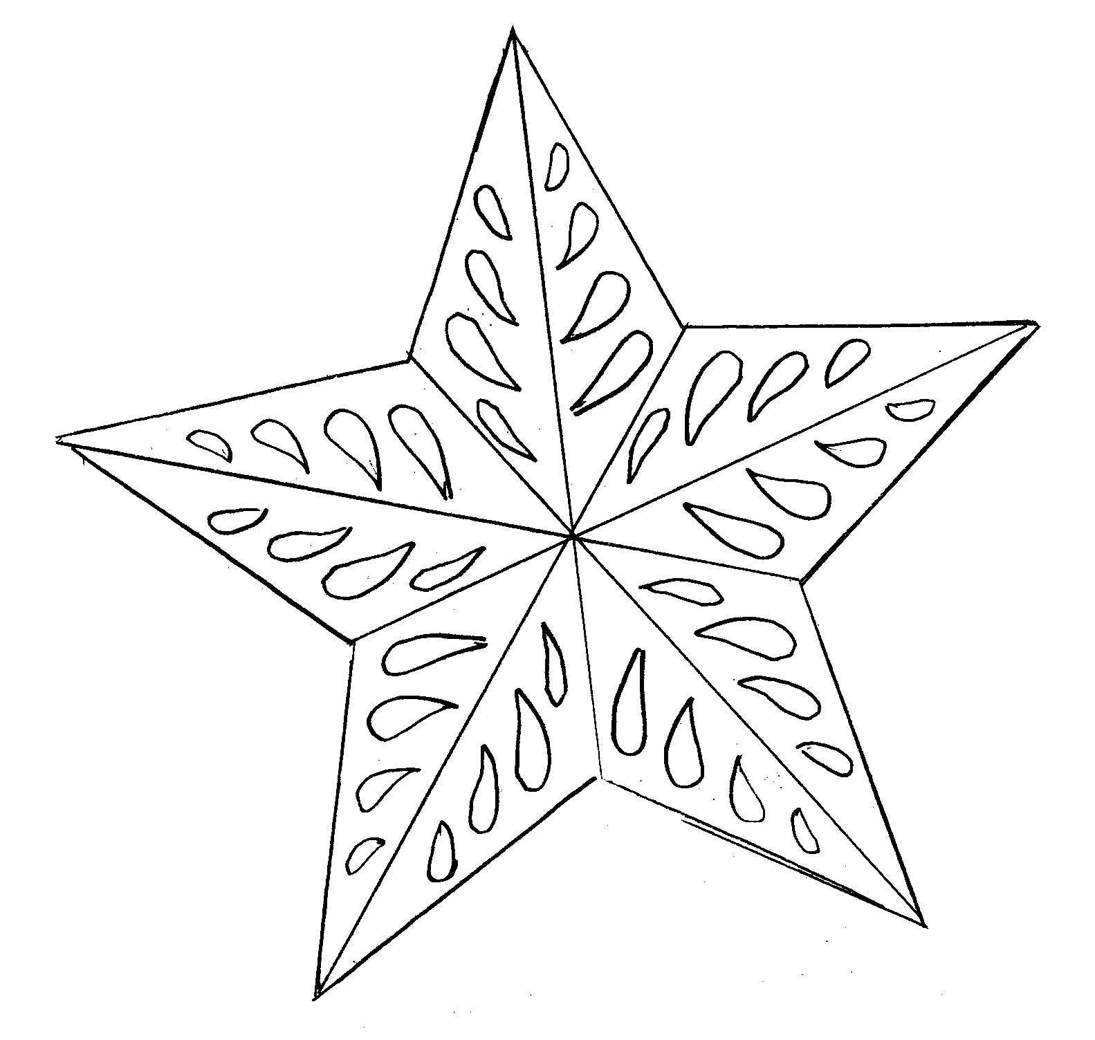 christmas star coloring free printable star coloring pages for kids star christmas coloring