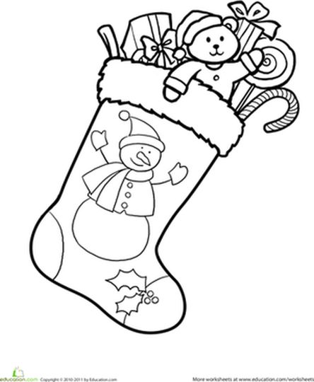 christmas stocking coloring sheets printable christmas stocking present coloring pages christmas sheets stocking coloring printable christmas