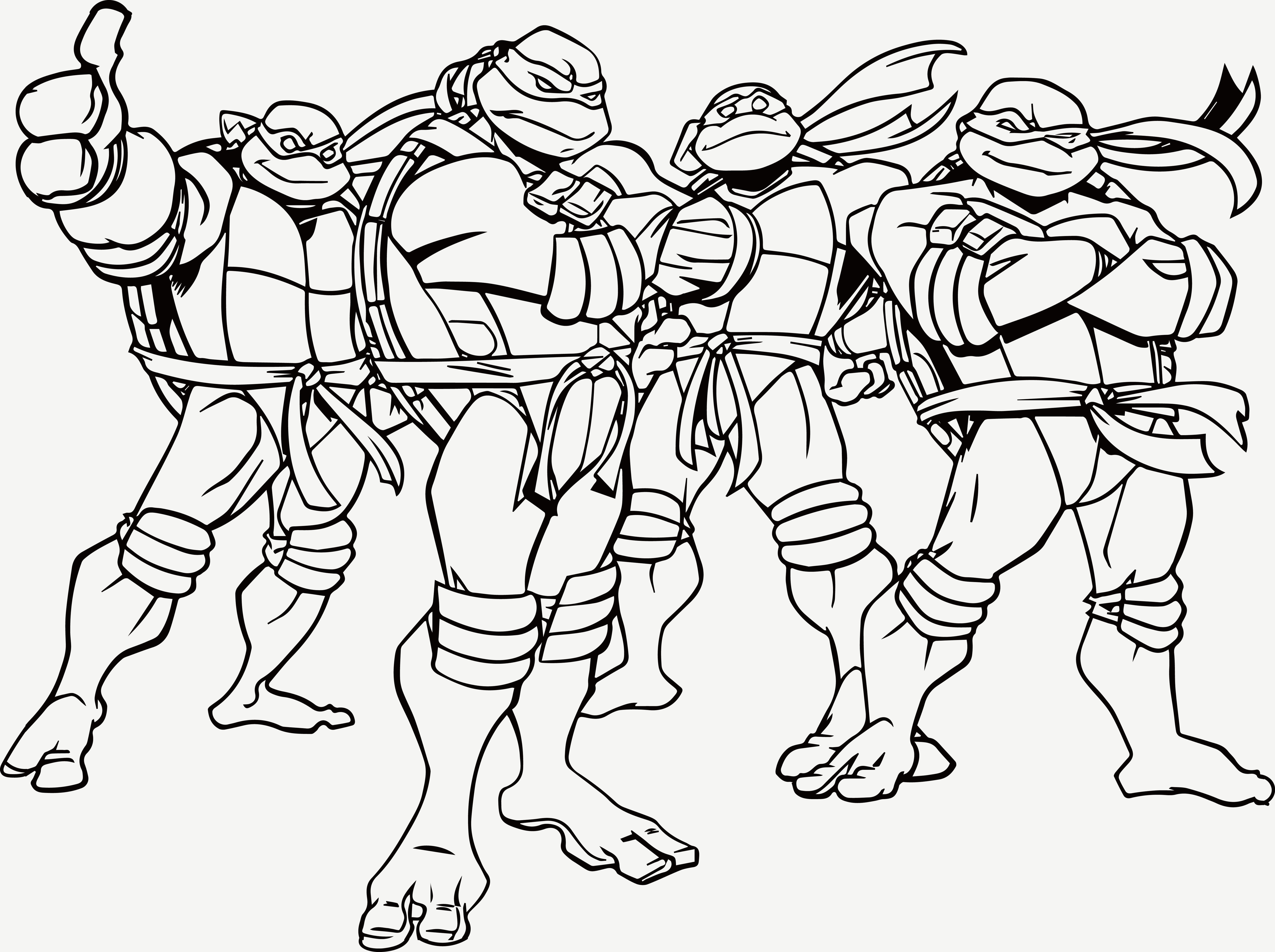 color ninja turtles nickelodeon teenage mutant ninja turtles coloring pages turtles color ninja