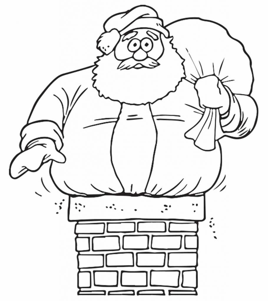 color picture of santa claus 30 cute santa claus coloring pages for your little ones of picture santa color claus