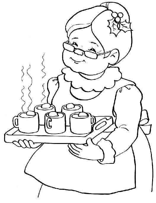 color picture of santa claus mrs santa claus coloring pages christmas embroidery picture color claus of santa