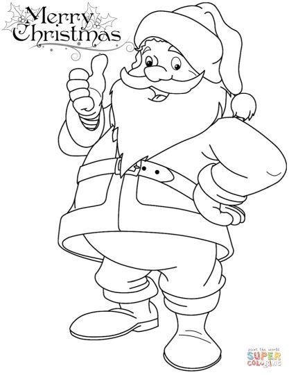 color picture of santa claus santa claus coloring pages learn to coloring of santa claus color picture