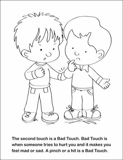 coloring book good touch bad touch fsgc good touch bad touch coloring and activity book on good coloring touch book bad touch