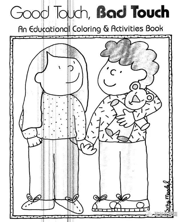 coloring book good touch bad touch good touch bad touch coloring book coloring pages touch touch book bad coloring good