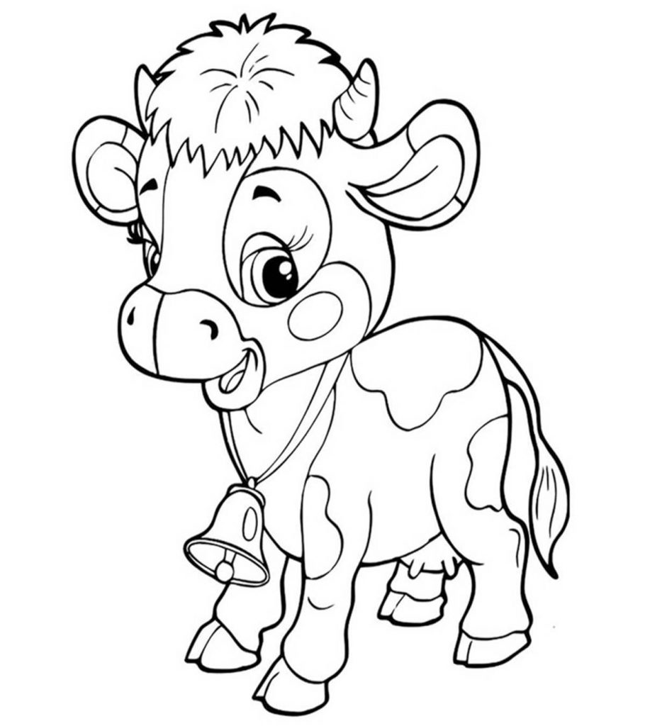 coloring page cow free printable cow coloring pages for kids cow coloring page