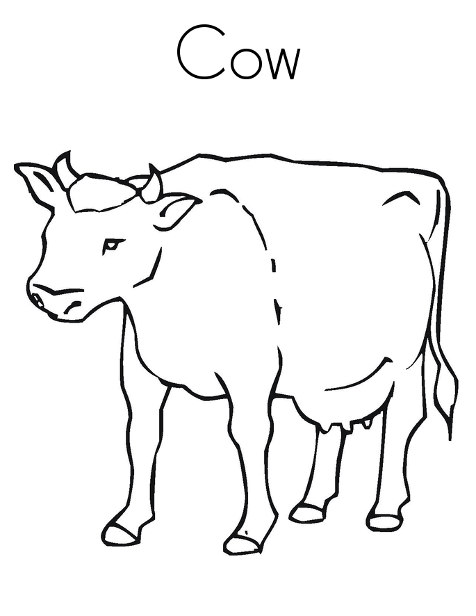 coloring page cow free printable cow coloring pages for kids page cow coloring