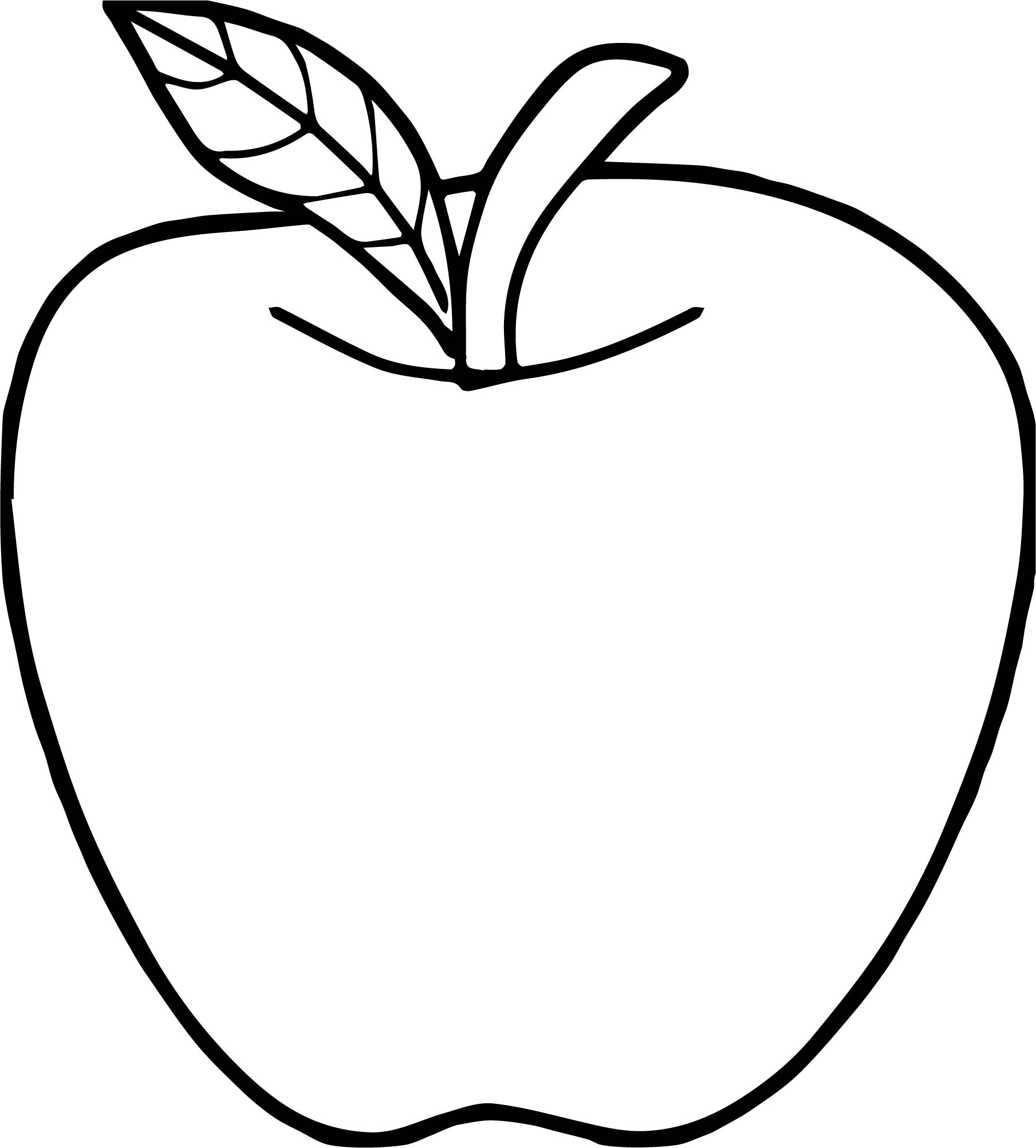 coloring pages apple free printable apple coloring pages for kids coloring apple pages 1 1