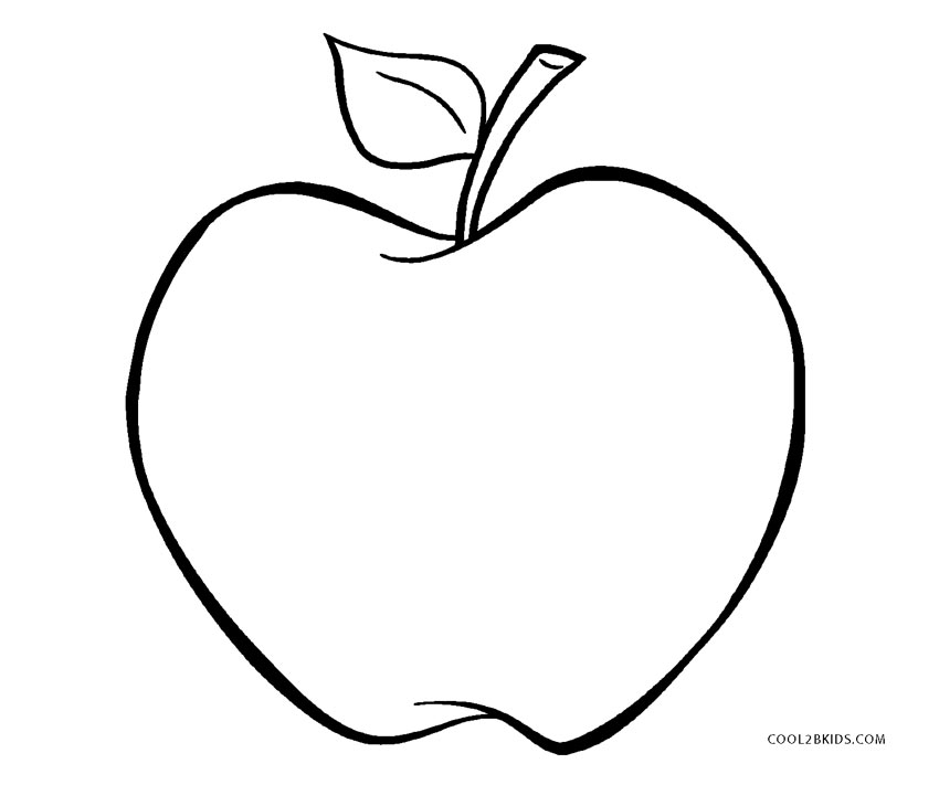 coloring pages apple free printable apple coloring pages for kids coloring apple pages 1 2