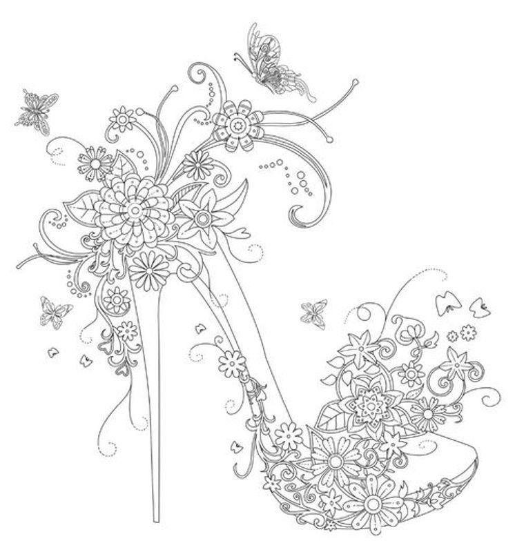 coloring pages for adults shoes 170 best images about shoes coloring pages for adults on shoes for coloring pages adults