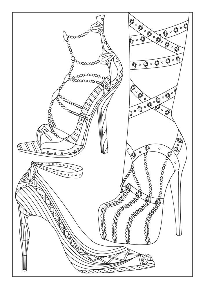 coloring pages for adults shoes high heel shoe coloring pages for adults and kids coloring pages for shoes adults