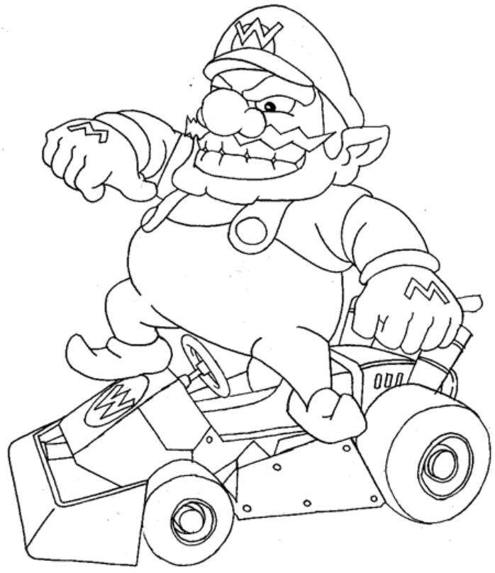coloring pages of mario kart wii free printable mario kart coloring pages for kids cool2bkids coloring mario kart pages of wii