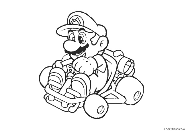 coloring pages of mario kart wii mario kart characters coloring pages coloring home coloring wii mario of pages kart