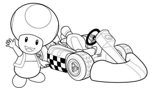 coloring pages of mario kart wii mario kart coloring pages christmas coloring pages wii mario coloring kart pages of