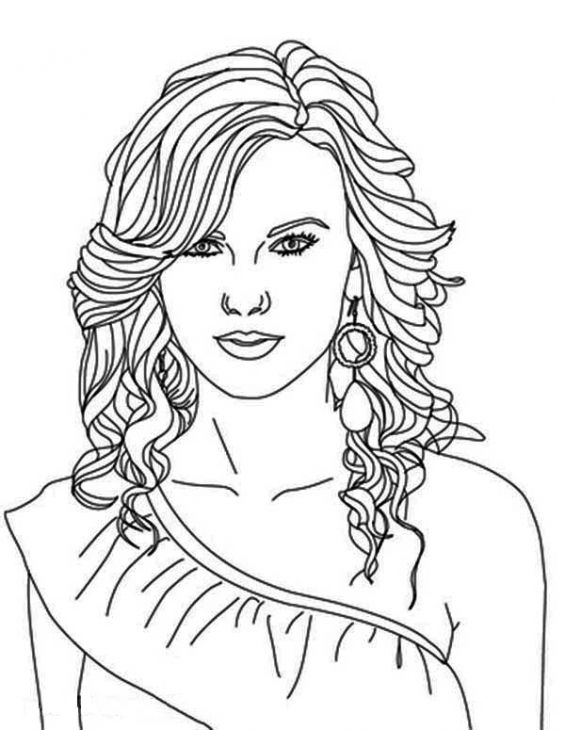 coloring pages people taylor swift coloring page taylor swift people coloring pages people coloring