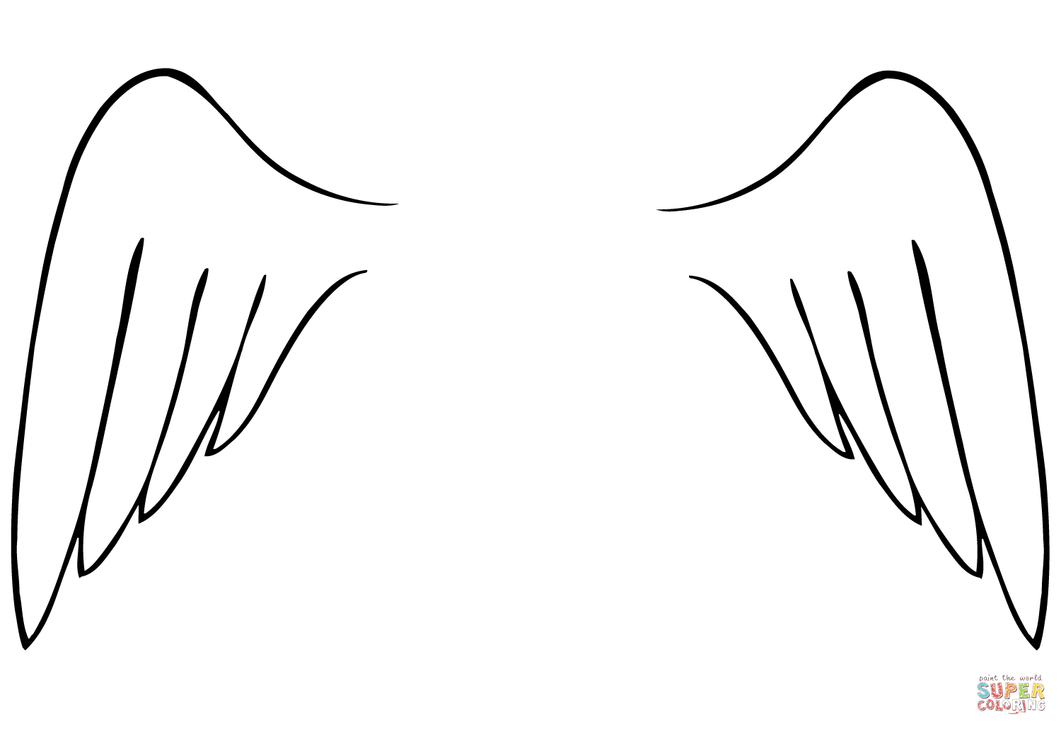 coloring pages wings angel wings coloring page free printable coloring pages wings coloring pages