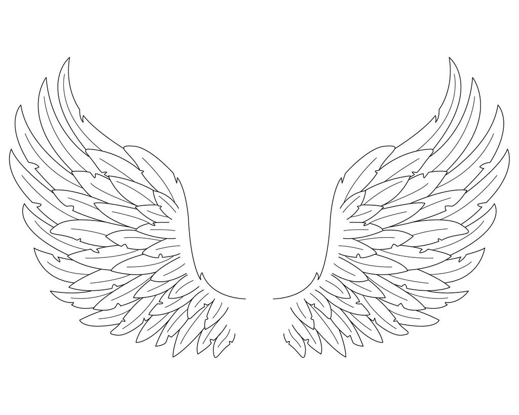 coloring pages wings printable cupid angel wiring diagram database pages coloring wings