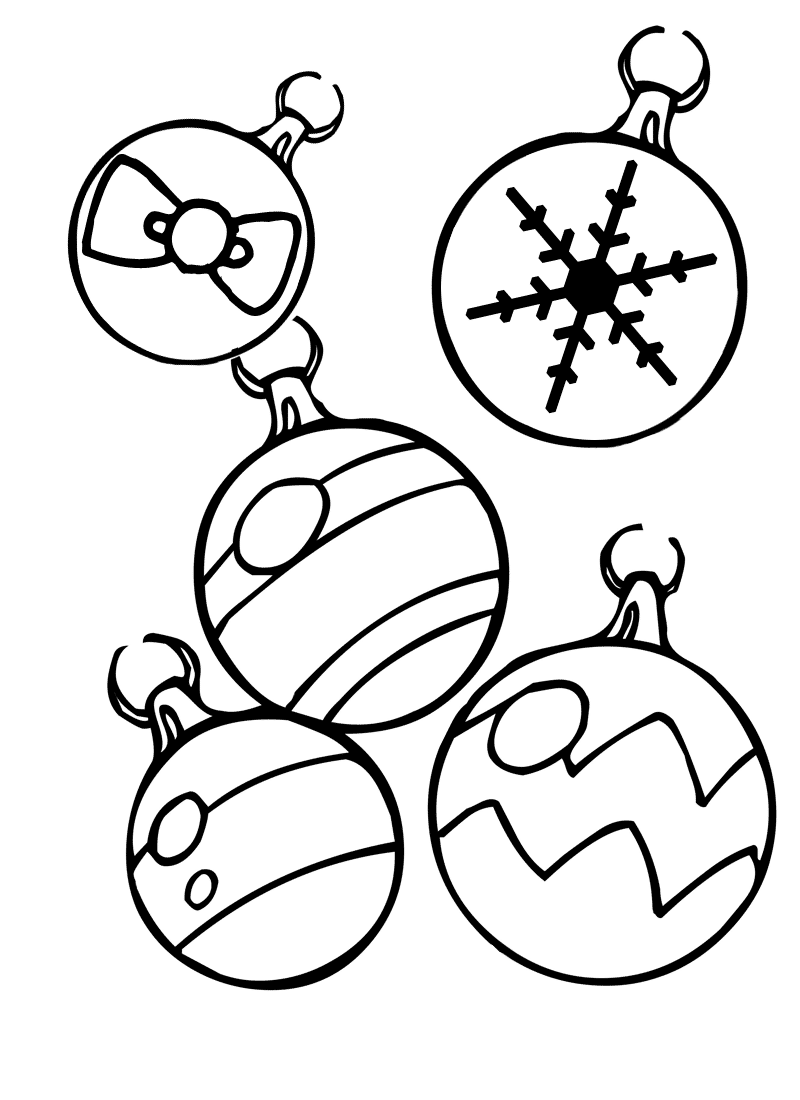 coloring pages xmas decorations christmas ornament coloring pages best coloring pages pages decorations coloring xmas