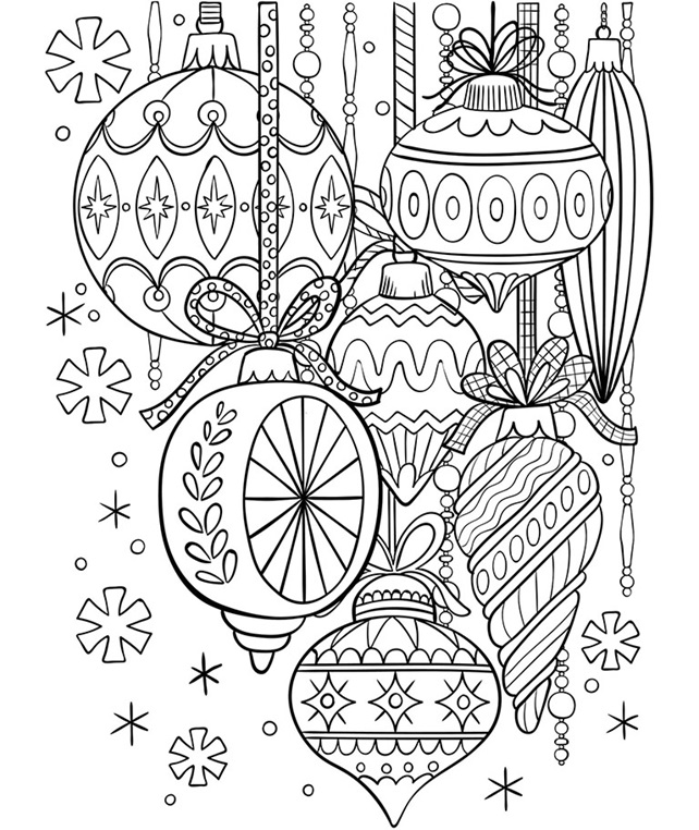 coloring pages xmas decorations christmas ornament coloring pages best coloring pages xmas pages decorations coloring