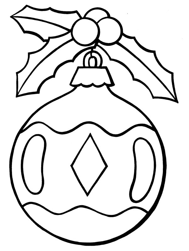 coloring pages xmas decorations classic glass ornaments coloring page crayolacom coloring xmas decorations pages