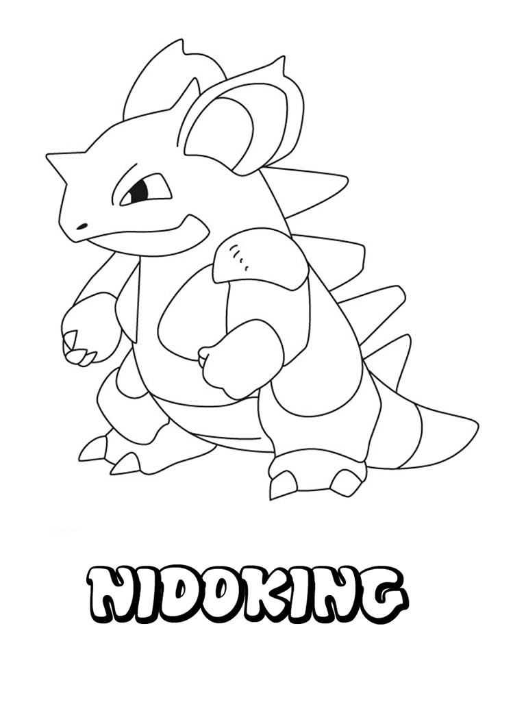 coloring pokemon pages nidoking coloring pages hellokidscom coloring pages pokemon