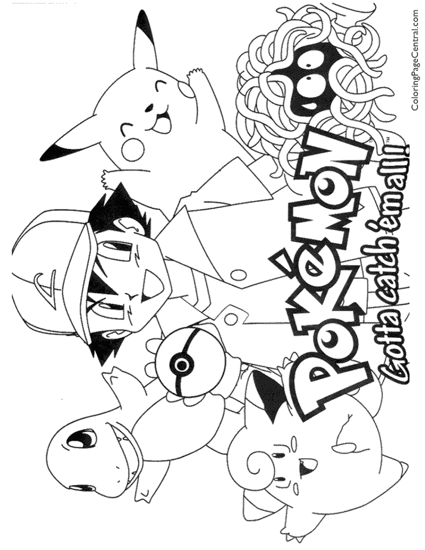 coloring pokemon pages pokemon coloring page 01 coloring page central pages pokemon coloring