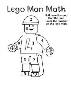 colour by number lego lego people coloring pages at getcoloringscom free colour by lego number