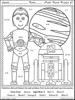 colour by number lego star wars math worksheets printable sketch coloring page number by lego colour