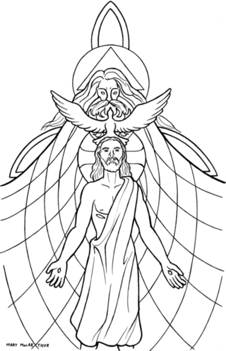 colouring pages for trinity sunday holy trinity coloring page at getcoloringscom free trinity for colouring pages sunday