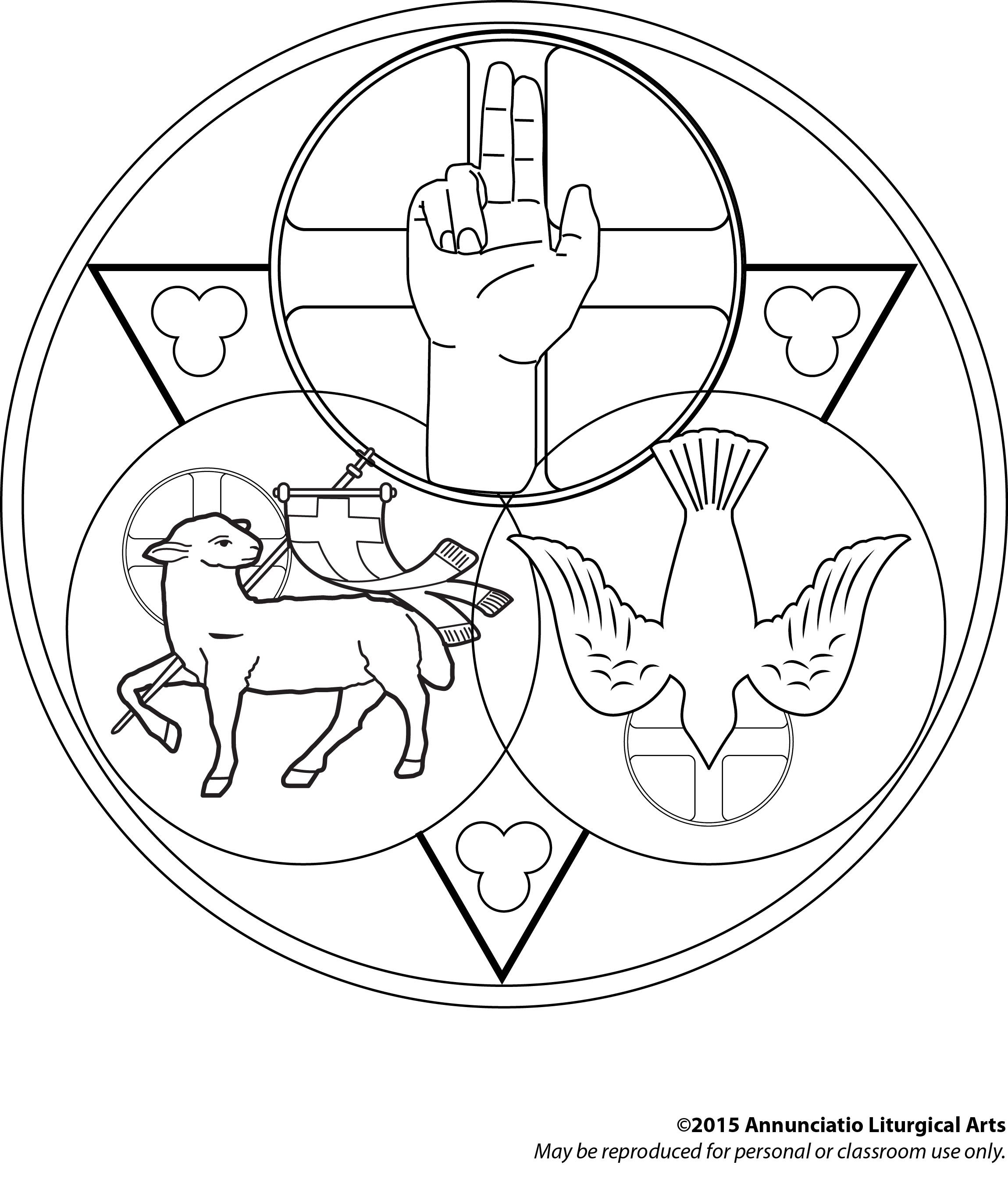 colouring pages for trinity sunday trinity sunday clip art free sketch coloring page pages sunday for trinity colouring