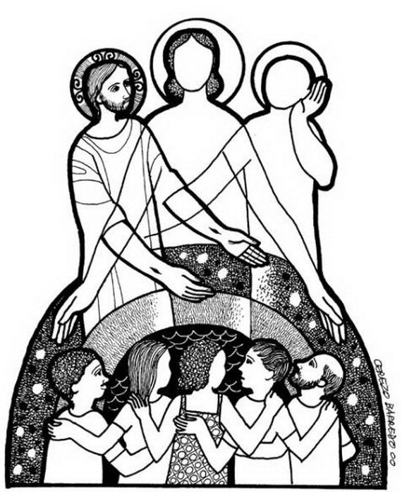 colouring pages for trinity sunday trinity sunday coloring pages family holidaynetguide for trinity pages sunday colouring