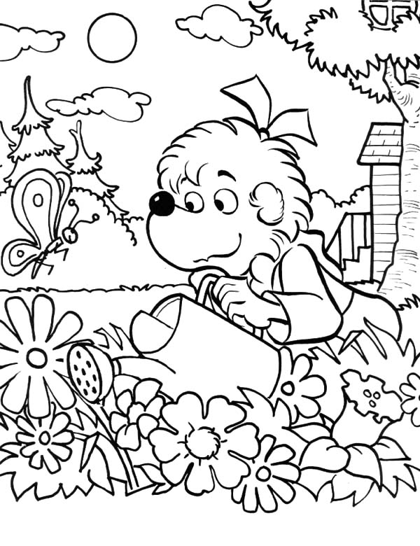 colouring pages garden garden coloring pages for kids printable world of reference pages colouring garden