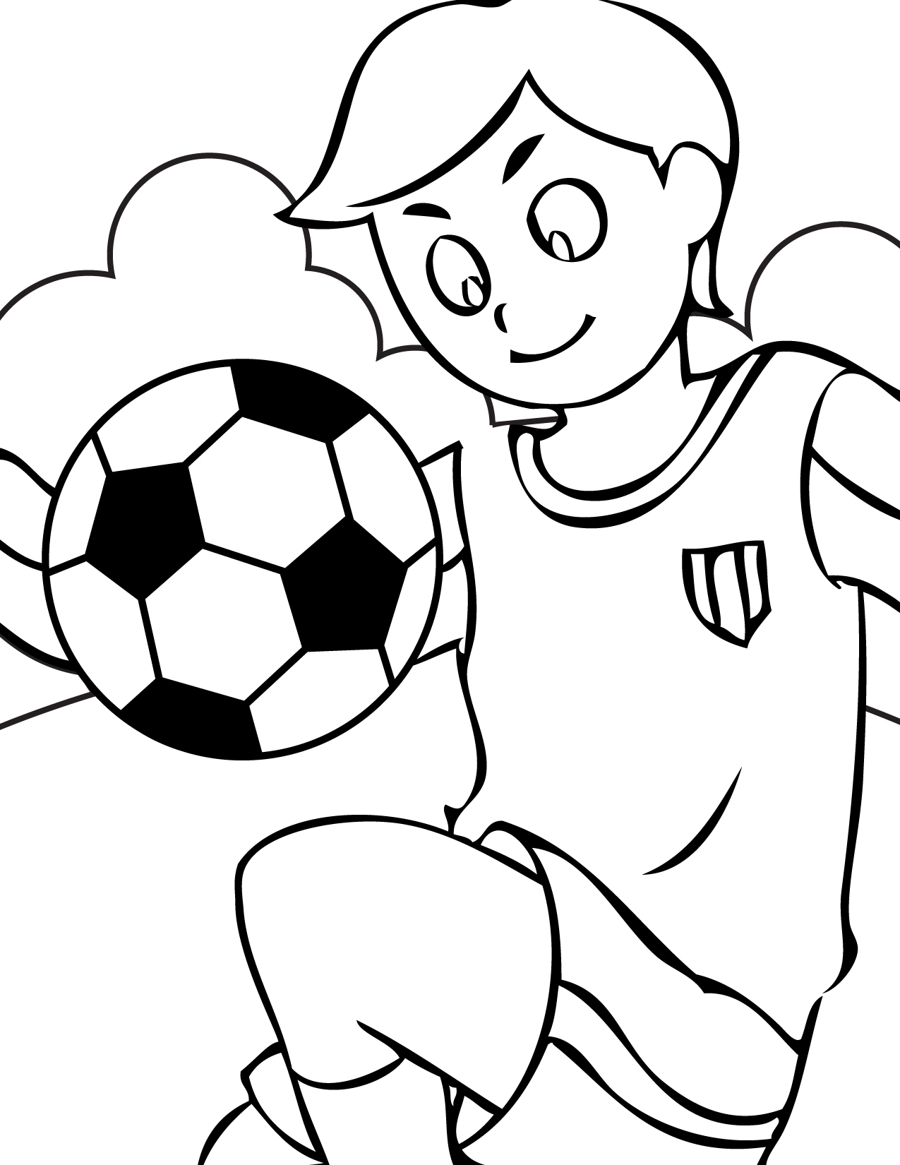 colouring pages soccer cartoon soccer ball clipartsco pages soccer colouring