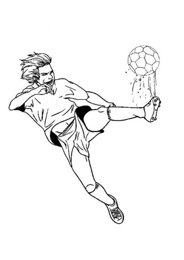 colouring pages soccer coloring book pages for children soccer player soccer pages colouring