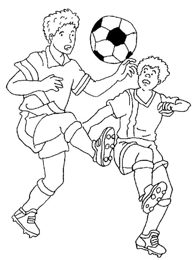 colouring pages soccer football coloring pages coloringpages1001com pages colouring soccer